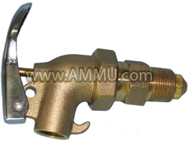 Drum Faucet 2 inch Brass