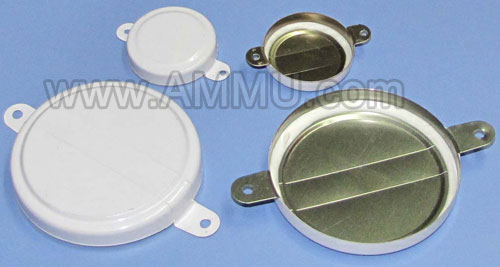 White Drum Cap Seal